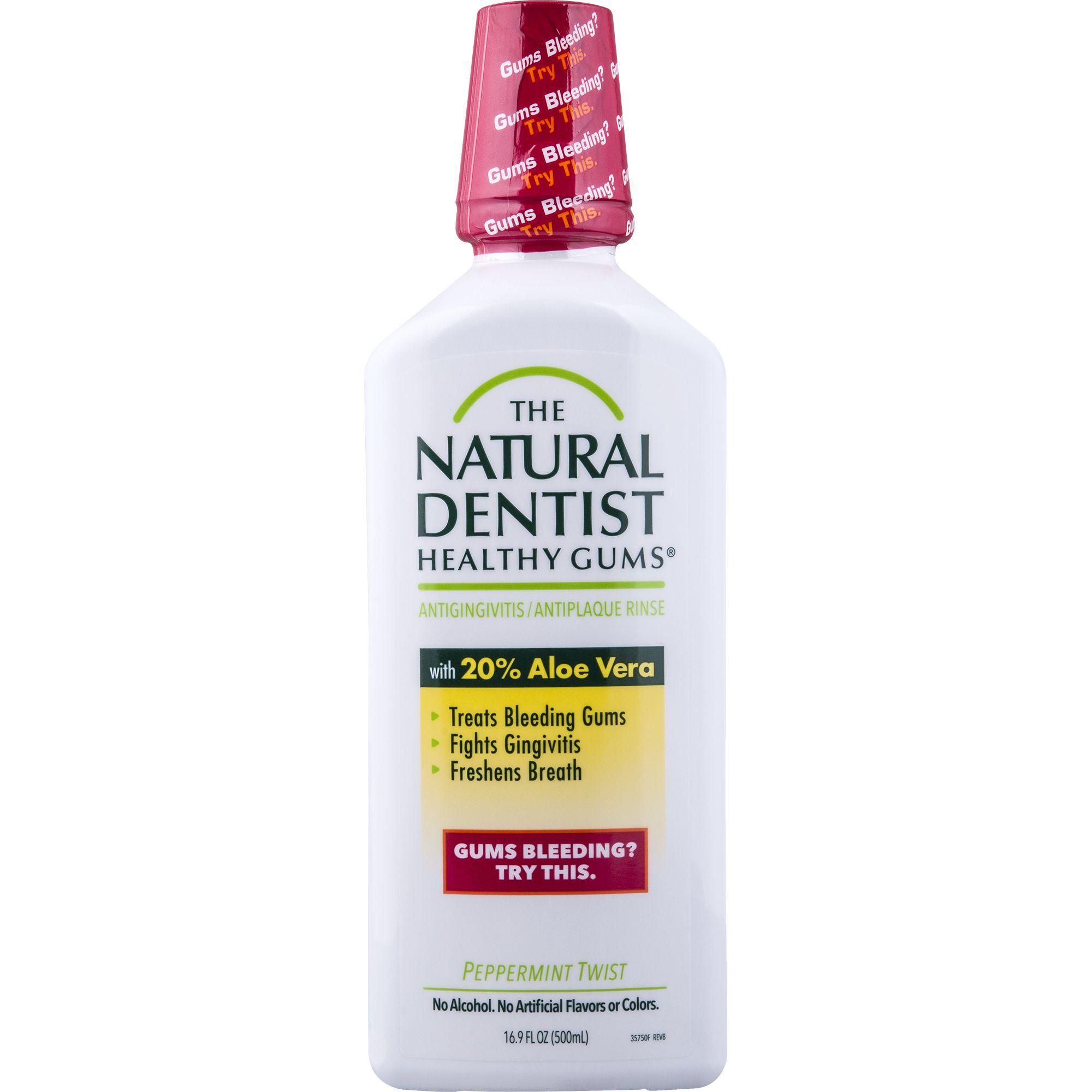 Natural Dentist Healthy Gums Mouthwash