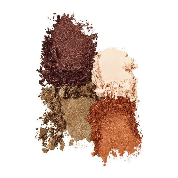 Avon True Colour Perfect Wear Eye Shadow Quad in Toasted Terra-Cotta