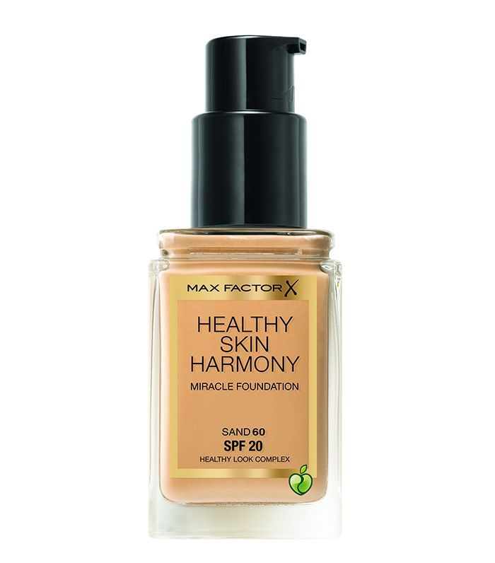 Best drugstore foundation for combination skin: Max Factor Healthy Skin Harmony Foundation