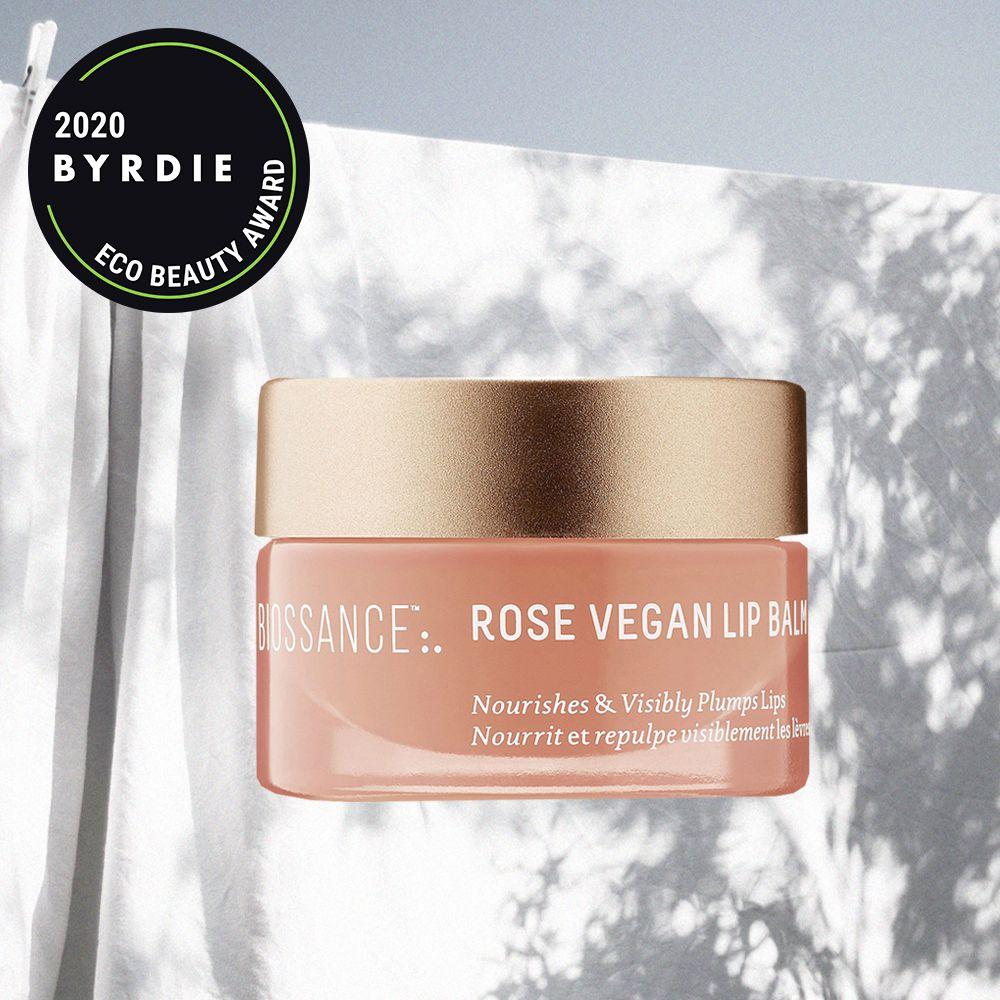 biossance Squalane+ Rose Vegan Lip Balm