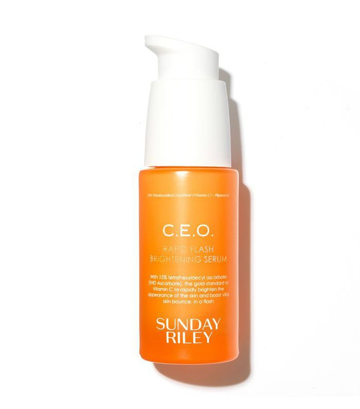 top skincare recommendations: Sunday Riley C.E.O. Rapid Flash Brightening Serum