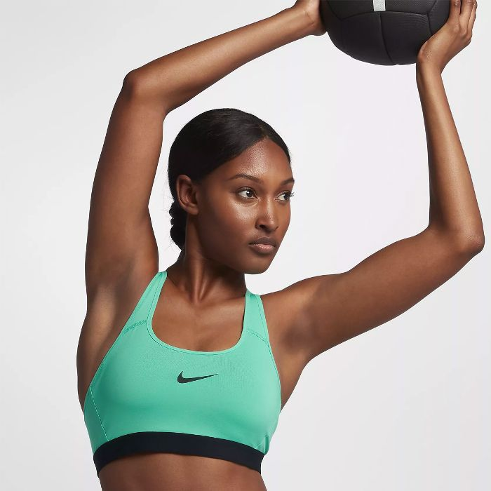 Nike Strappy Classic Support Sports Bra