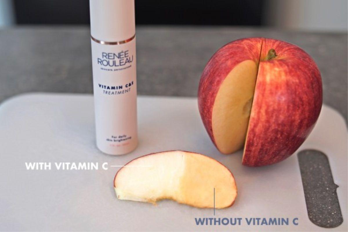Apple vitamin C experiment