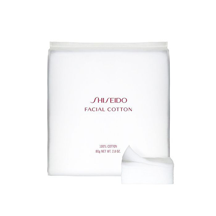 best beauty products 2018: Shiseido Facial Cotton