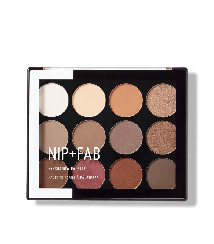Brown Smokey Eye: Nip+Fab Eyeshadow Palette Sculpted