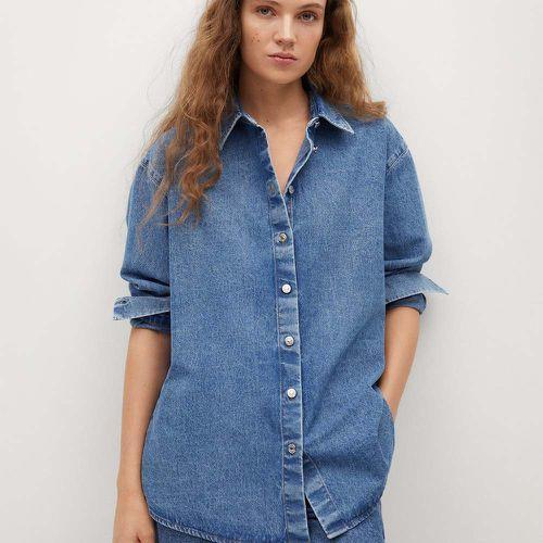 Oversize Denim Shirt ($39.99)