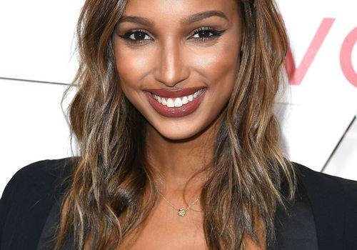 Jasmine Tookes medium-length hair