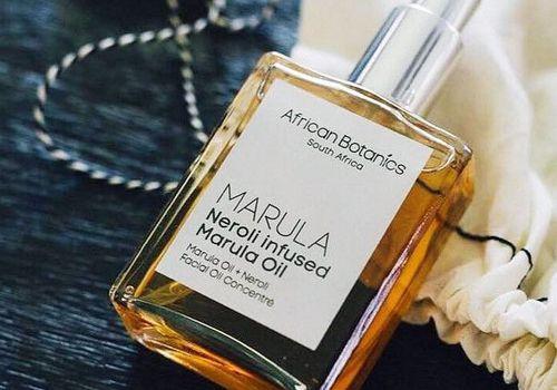 african botanics marula infused neroli oil