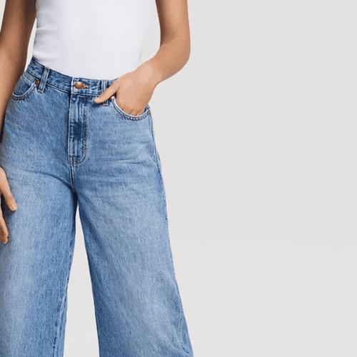 Wrangler Worldwide 661 High Rise Wide Leg Jean