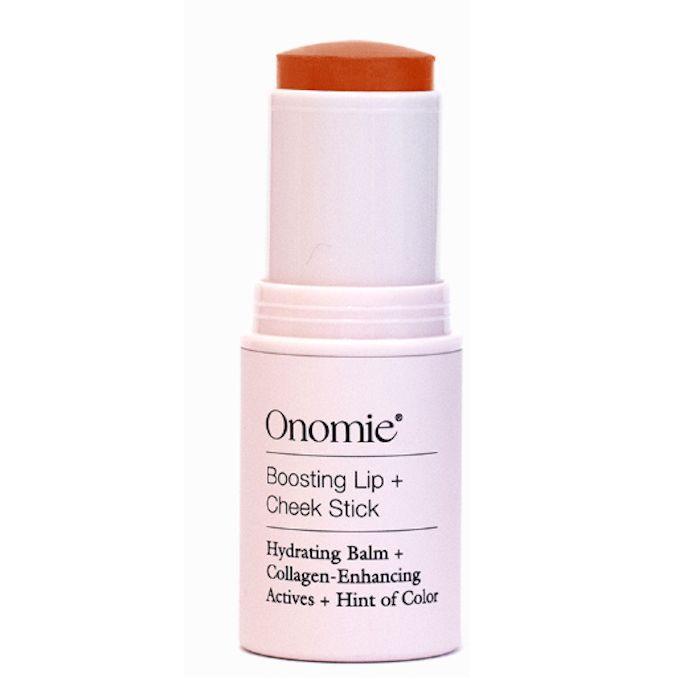 Onomie Boosting Lip + Cheek Stick in Toasted Papaya