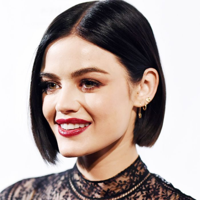 Lucy Hale hair: Lucy Hale for Byrdie