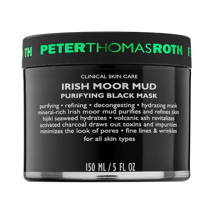 Irish Moor Mud Purifying Black Mask 5 oz