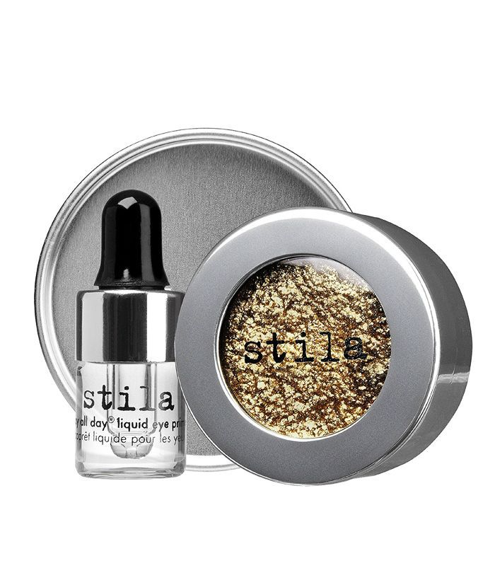 Stila Magnificent Metals Foil Finish Eye Shadow With Liquid Eye Primer