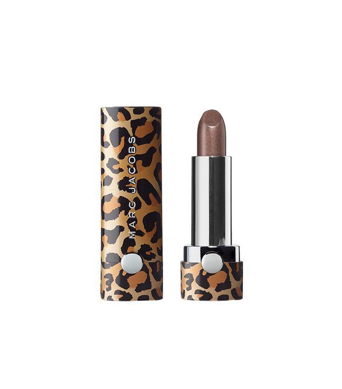 Marc Jacobs Le Marc Leopard Frost Lip Crème Lipstick in Detox 508