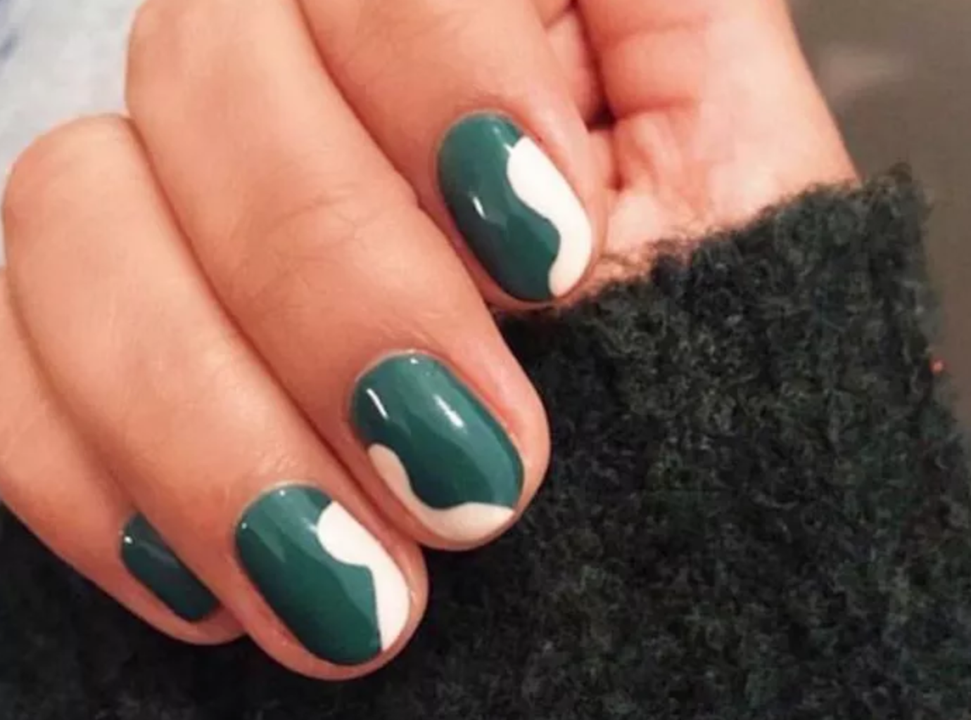 22 Green Nail Designs That Might Convince You To Relinquish Reds This Season