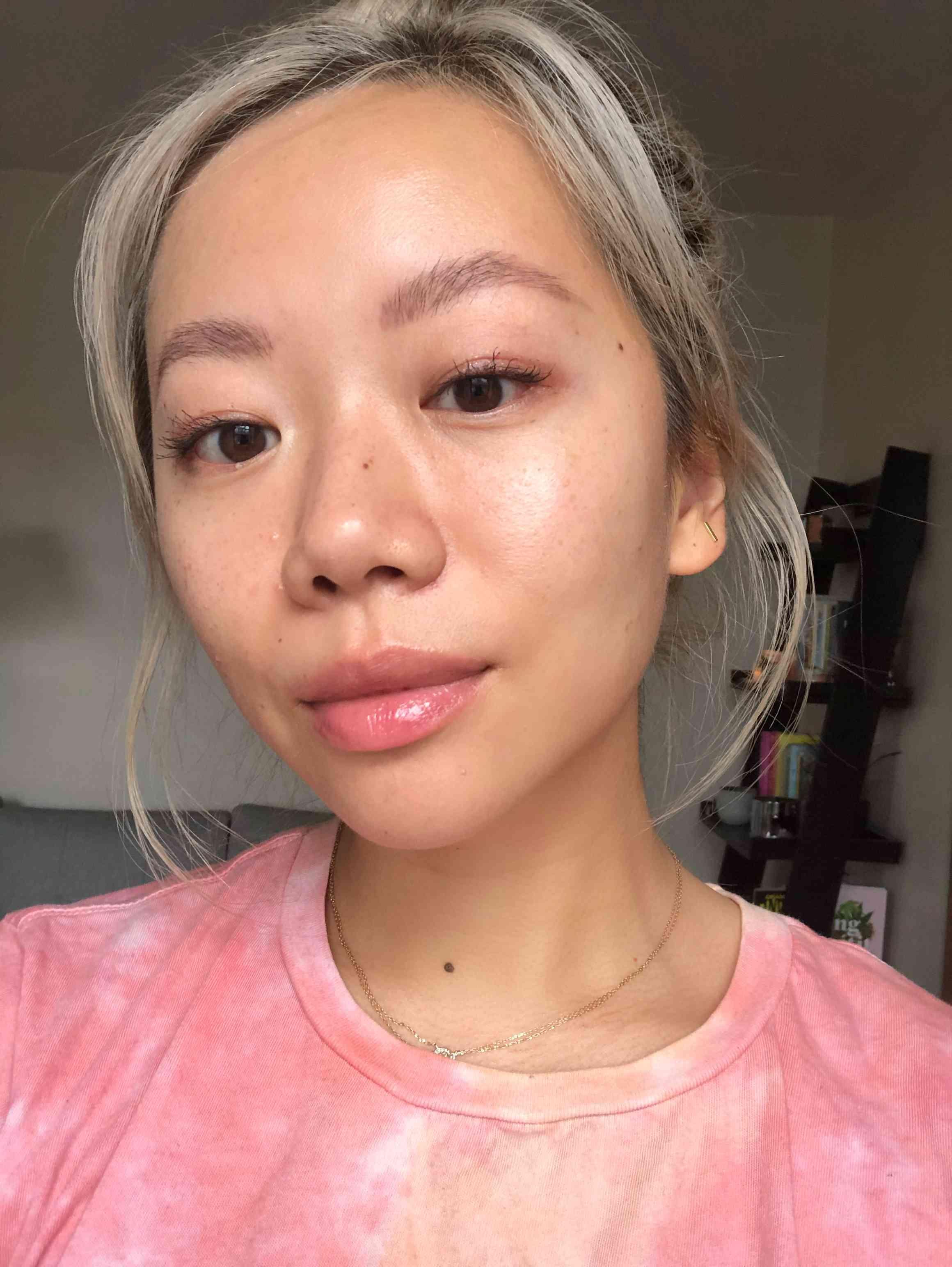 Faith Xue post-face cleansing