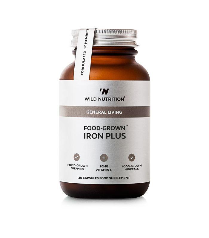 wild nutrition Food-Grown® Iron Plus (30 capsules)