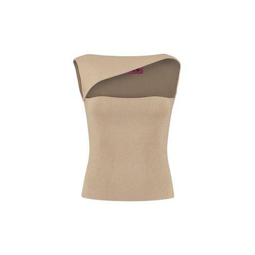 Tajo Asymmetrical Neckline Top ($336)