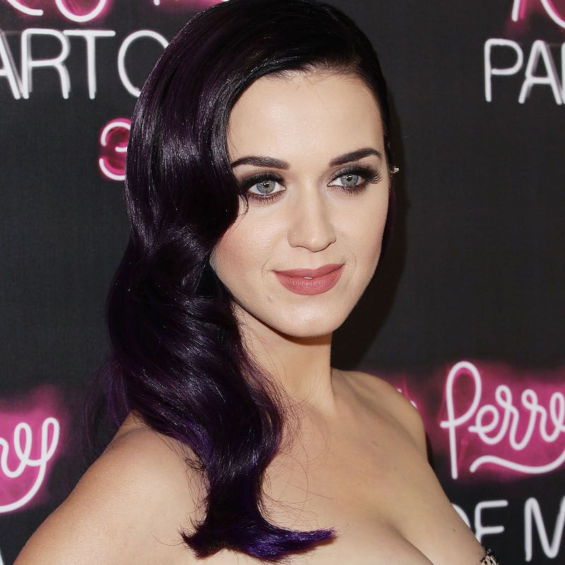 Brown Hair Color Katy Perry