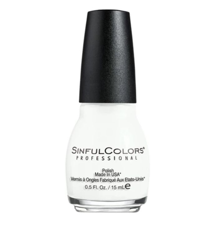 Sinful Colors Professional Nail Polish in Snow Me White