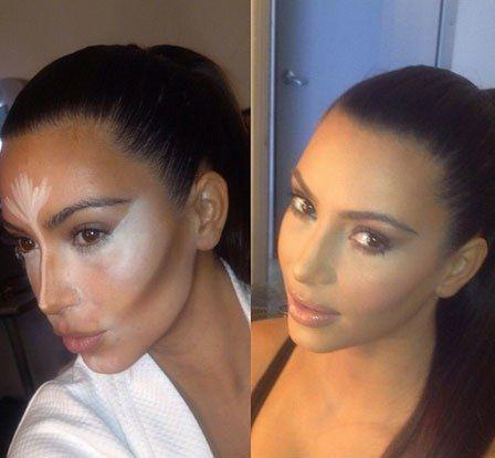 Kim Kardashian Makeup Looks, 2010