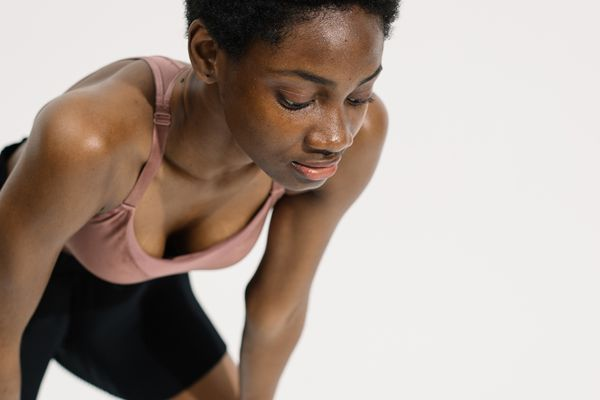 woman working out fitness