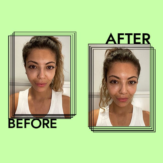 Supergoop! Play Everyday SPF 50 Results on Gabrielle Dyer