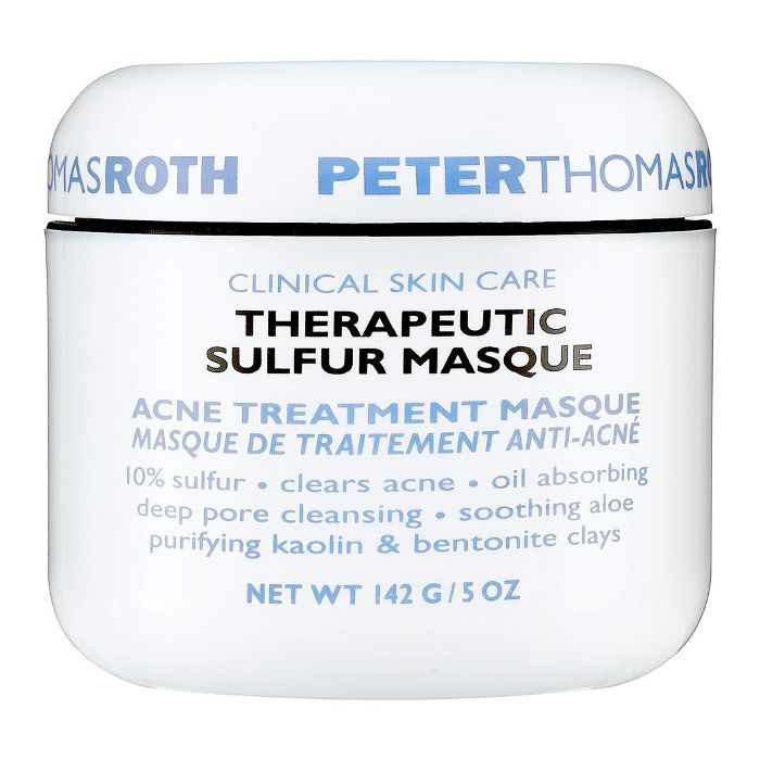 Therapeutic Sulfur Mask Acne Treatment Mask 5 oz
