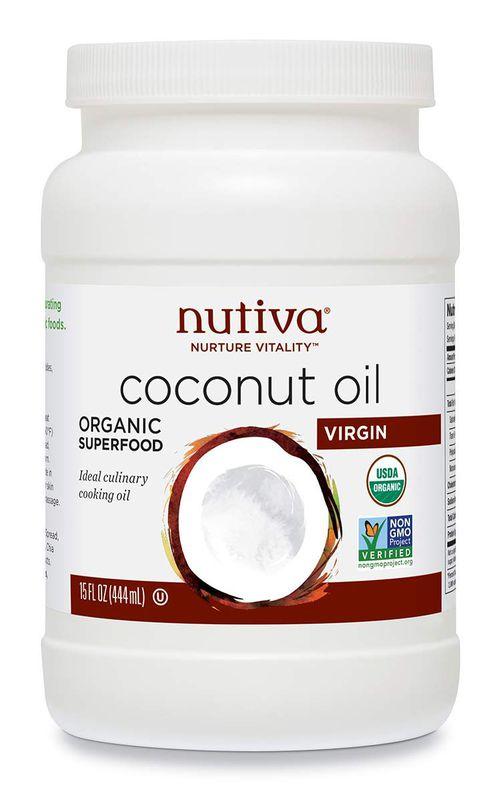 Nutriva Organic, Unrefined, Virgin Coconut Oil