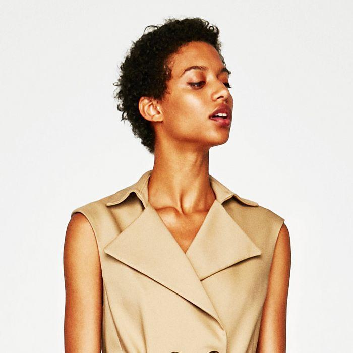 Rimmel foundation: Zara model
