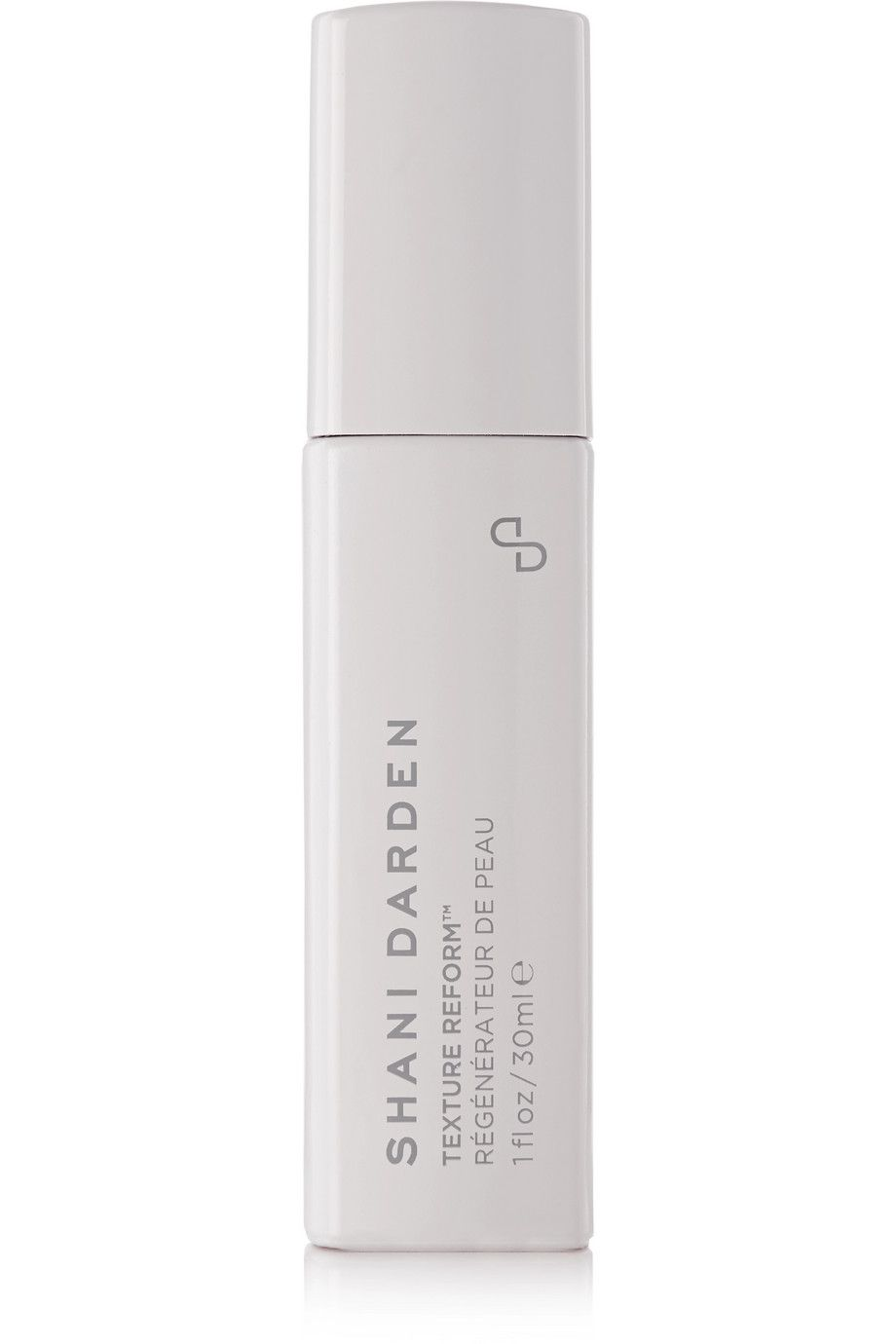 texture reform, in an all white bottle with grey writing and presumably a pump underneath