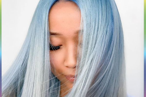 color changing blue hair dye
