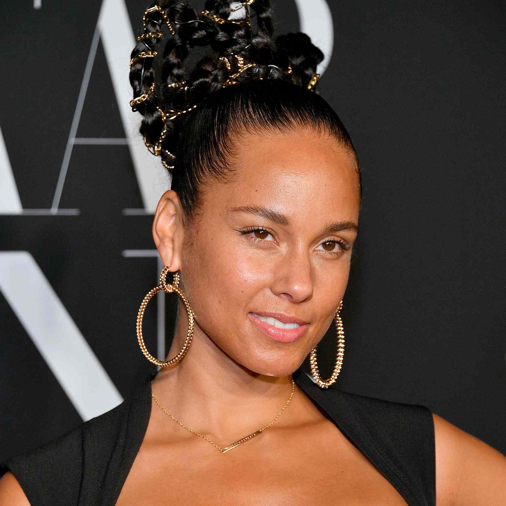 Alicia Keys Natural Makeup