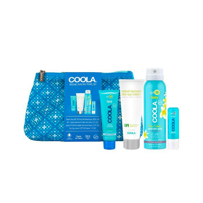 Coola 4-Piece Organic Suncare Travel Set