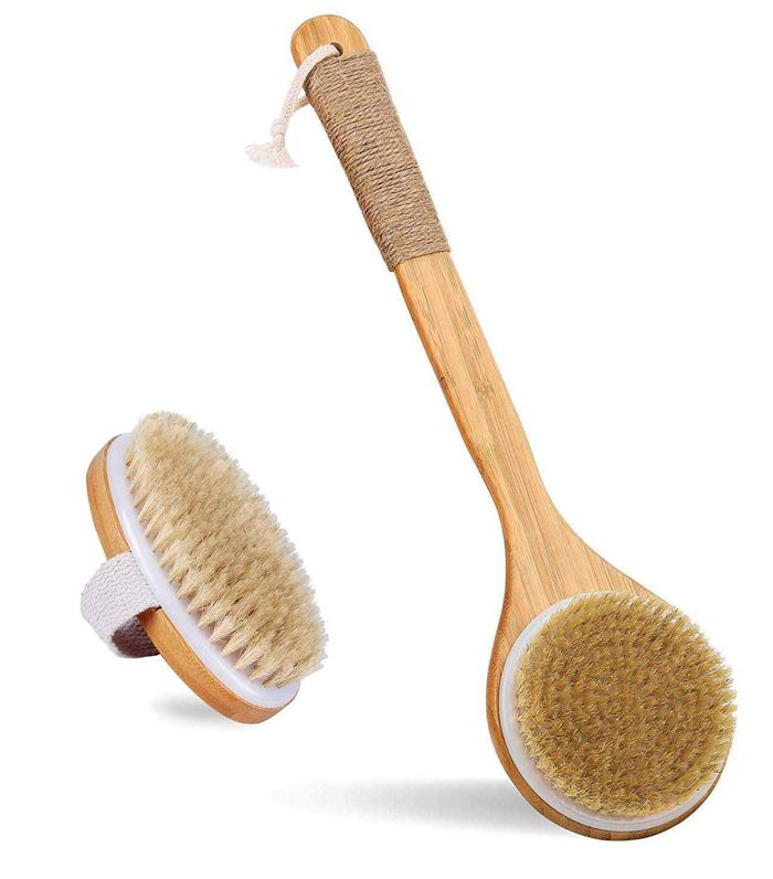 dry body brush set
