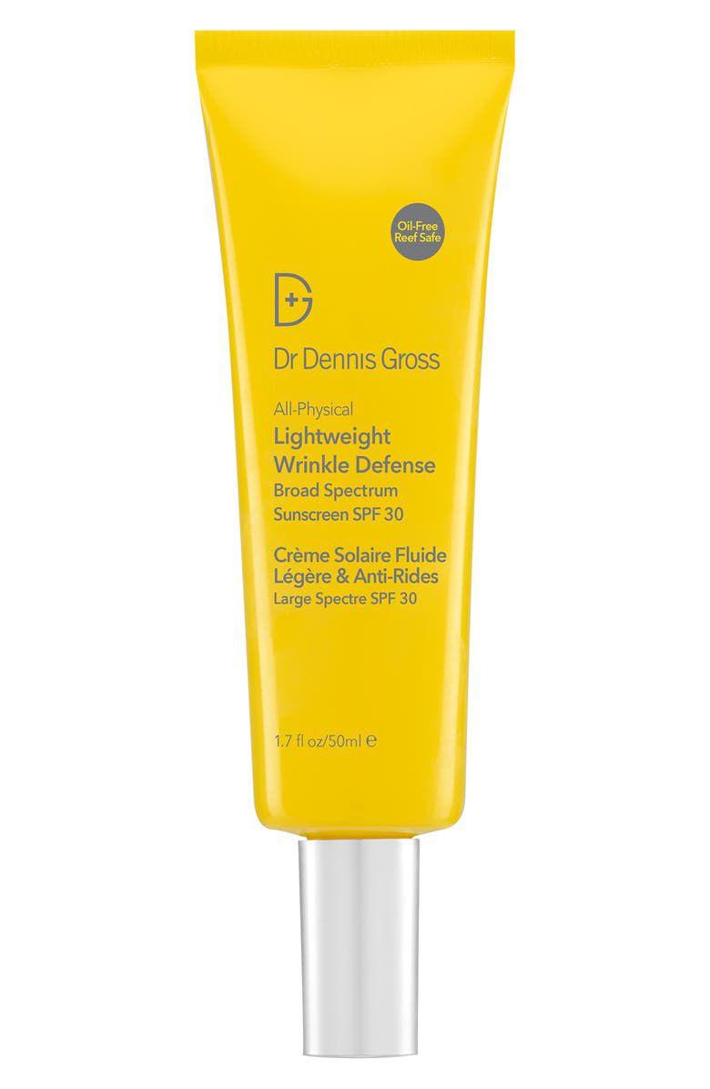 Dr. Dennis Gross All-Physical Lightweight Wrinkle Defense SPF 30 Sunscreen
