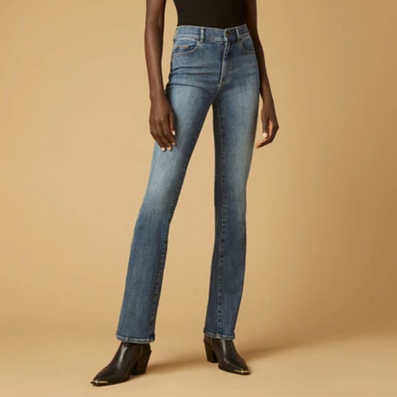 DL1961 Bridget Boot High Rise Instasculpt Jeans