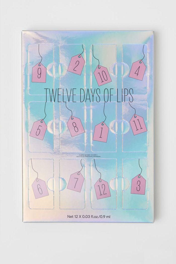 H&M Lip Calendar