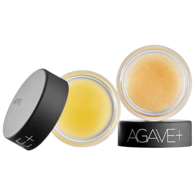 Bite Beauty Agave+ Vegan Mini Scrub & Sleep Lip Duo