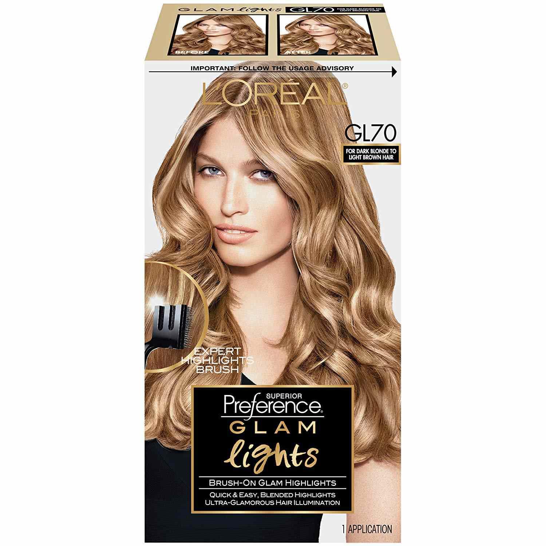 Superior Preference Glam Lights Highlights, GL70 Dark Blonde