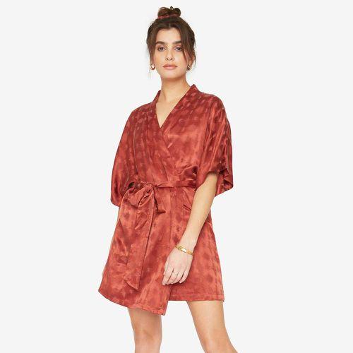 The Short Robe-Rust Zig Zag ($148)
