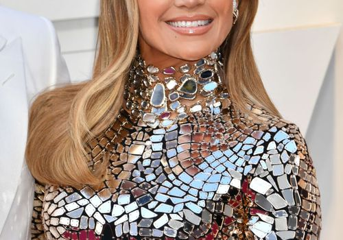 Jennifer Lopez Caramel Highlights