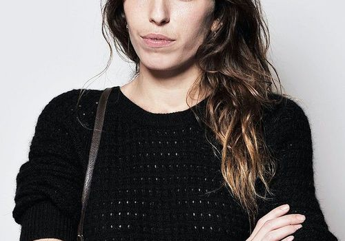 Actress Lou Doillon during a Portrait Session