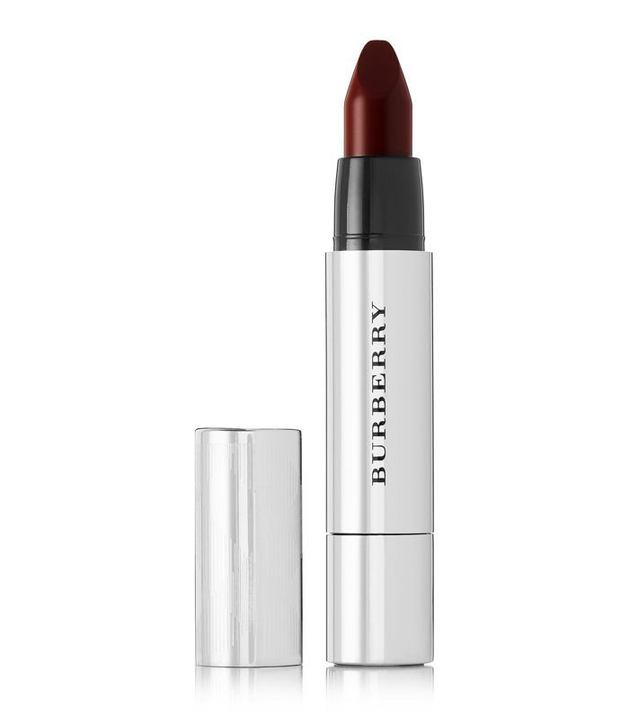 best dark red lipstick: Burberry Full Kisses in Oxblood No.549