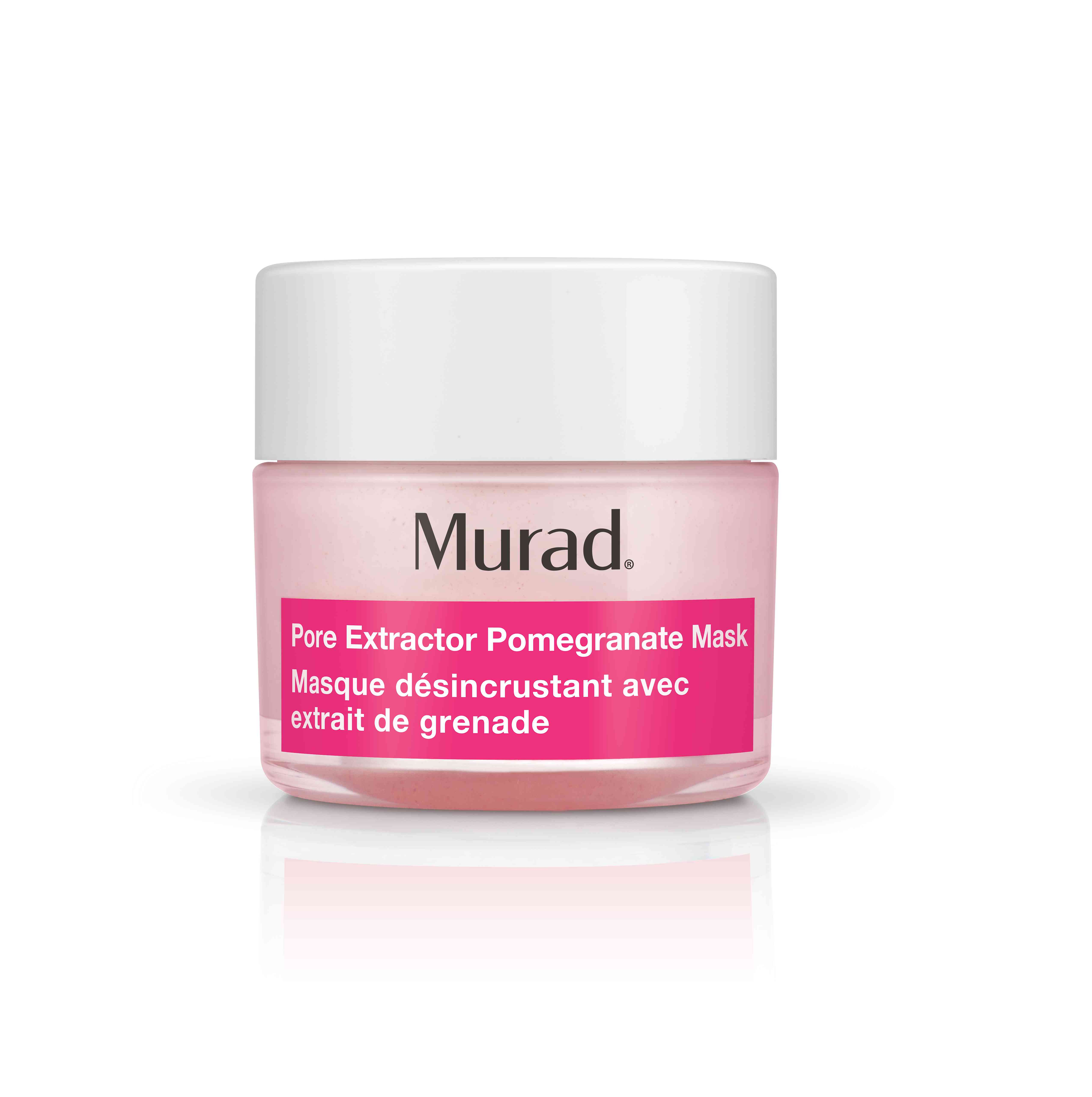 Pore Rescue Pore Extractor Pomegranate Mask in a jar, pink