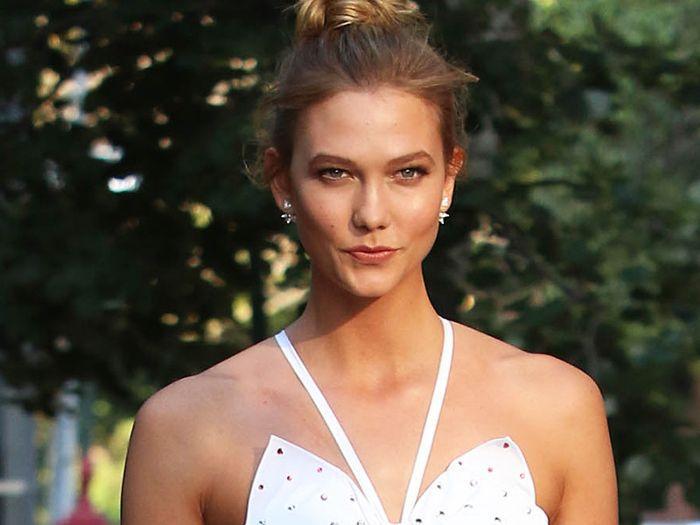 morning routine models: Karlie kloss