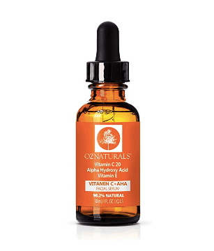 OZ Naturals Vitamin C Serum + AHA For Skin Facial Serum