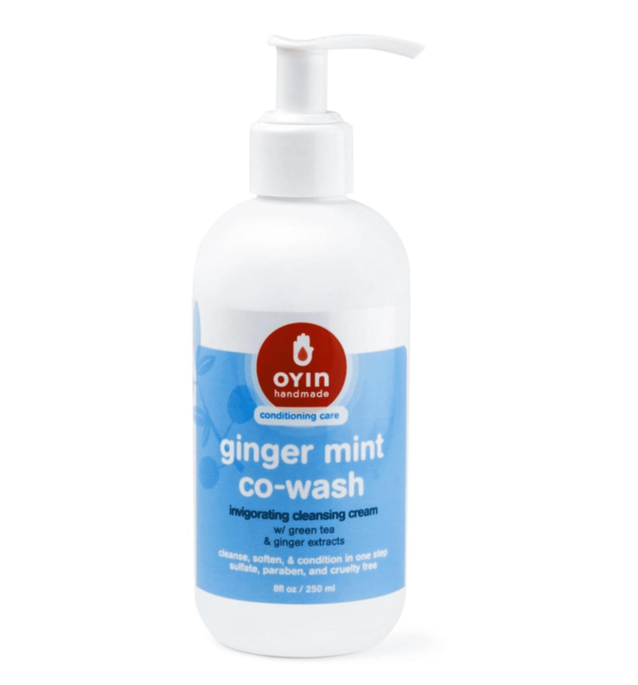 oyin ginger mint co-wash