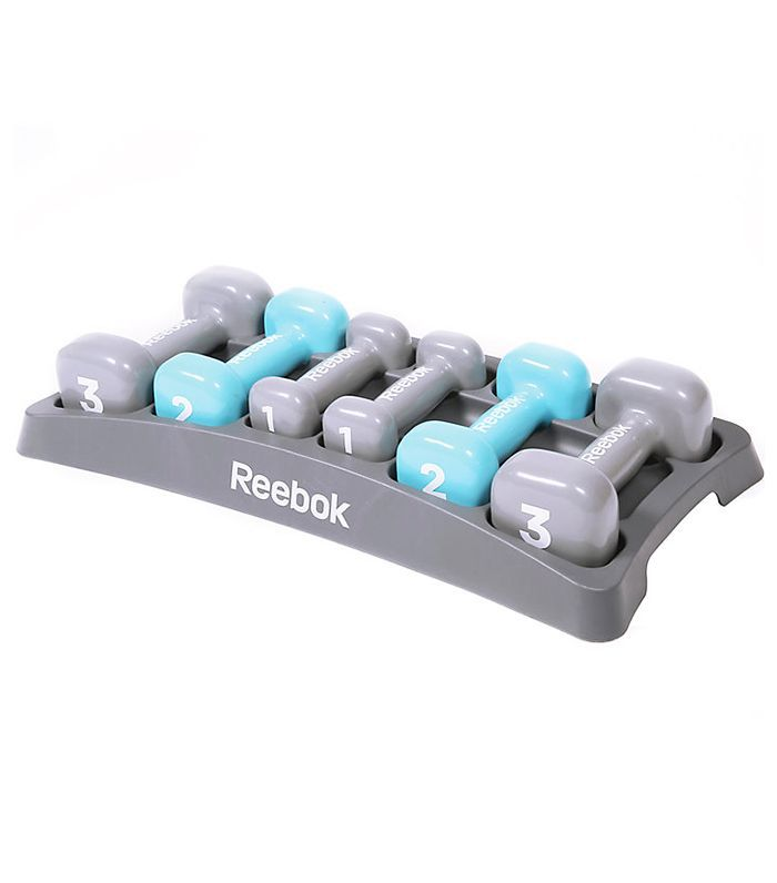 Fitness gifts for her: Reebok Dumbbell Set
