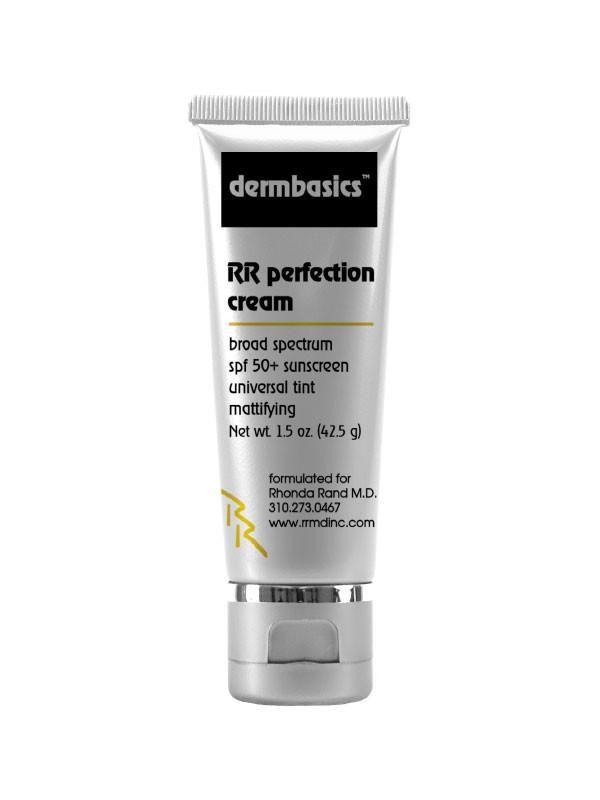 A gray tube of sunscreen with black and yellow writing.